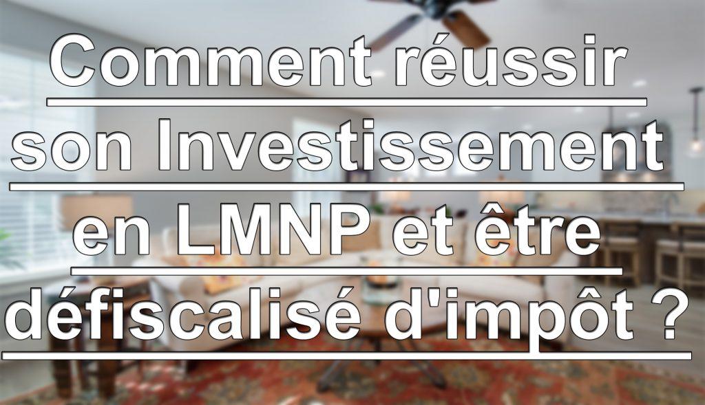Investissement LMNP