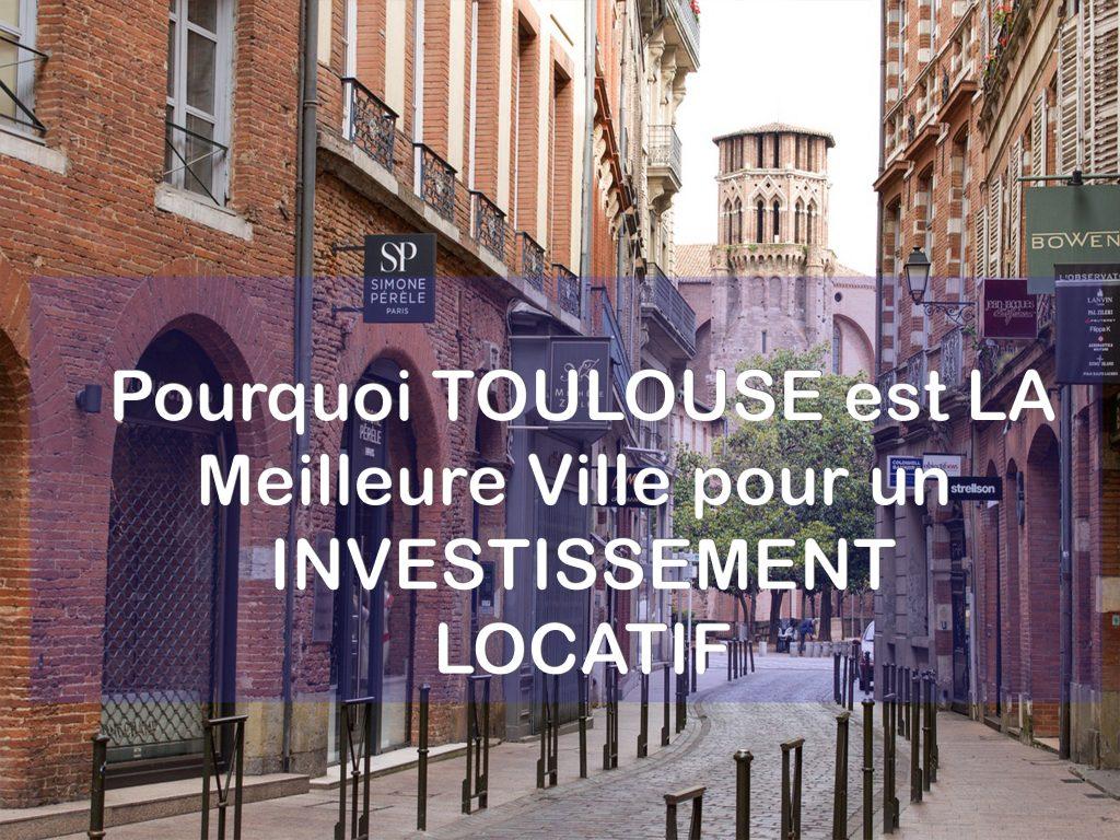 Toulouse meilleure ville investir locatif