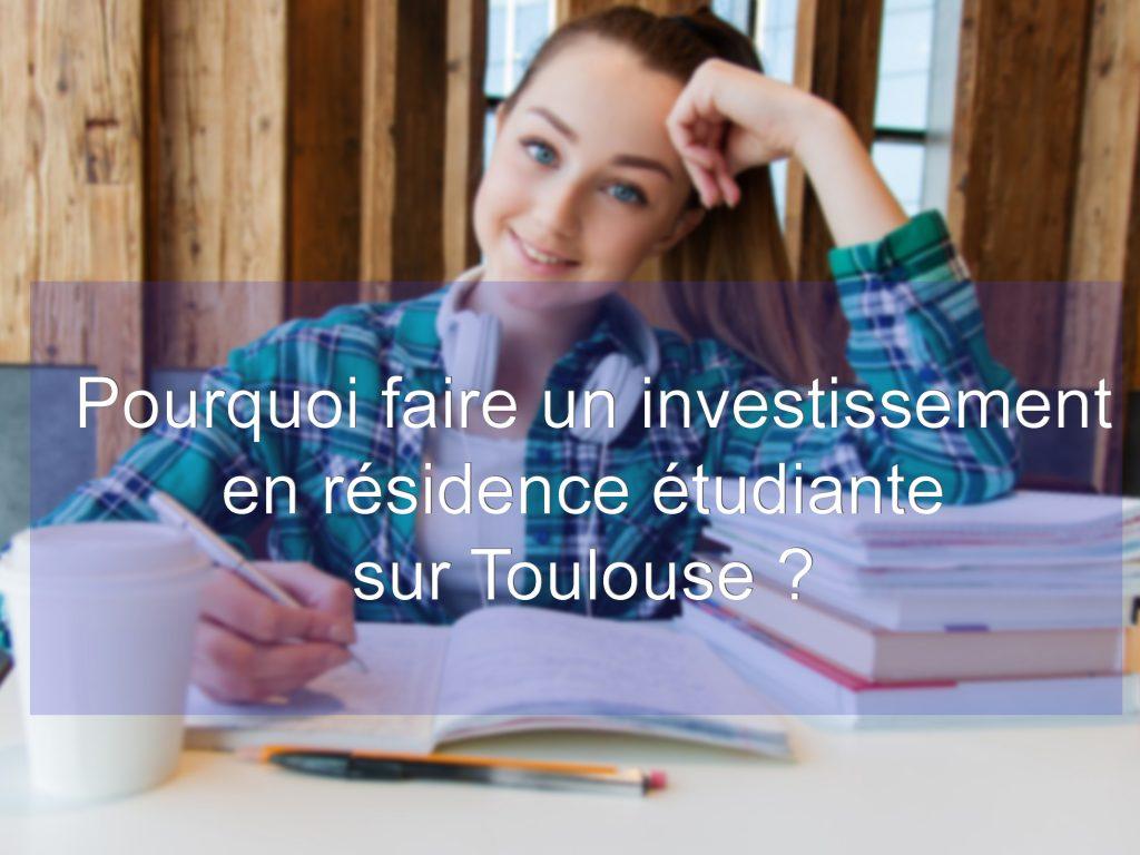 investissement résidence étudiante toulouse
