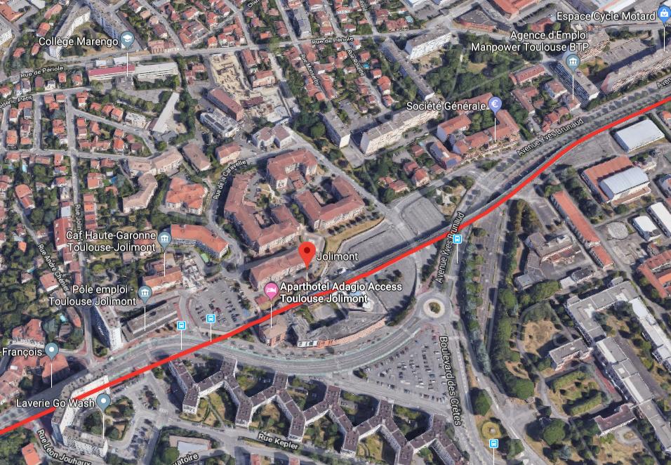 Quartier Jolimont Toulouse