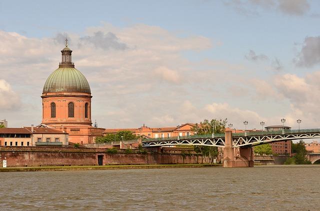Quartier Saint Cyprien Toulouse