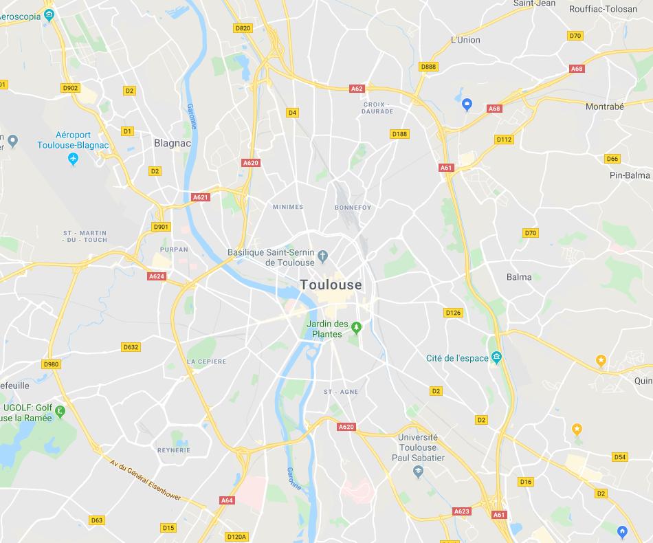 Quartiers de Toulouse investir