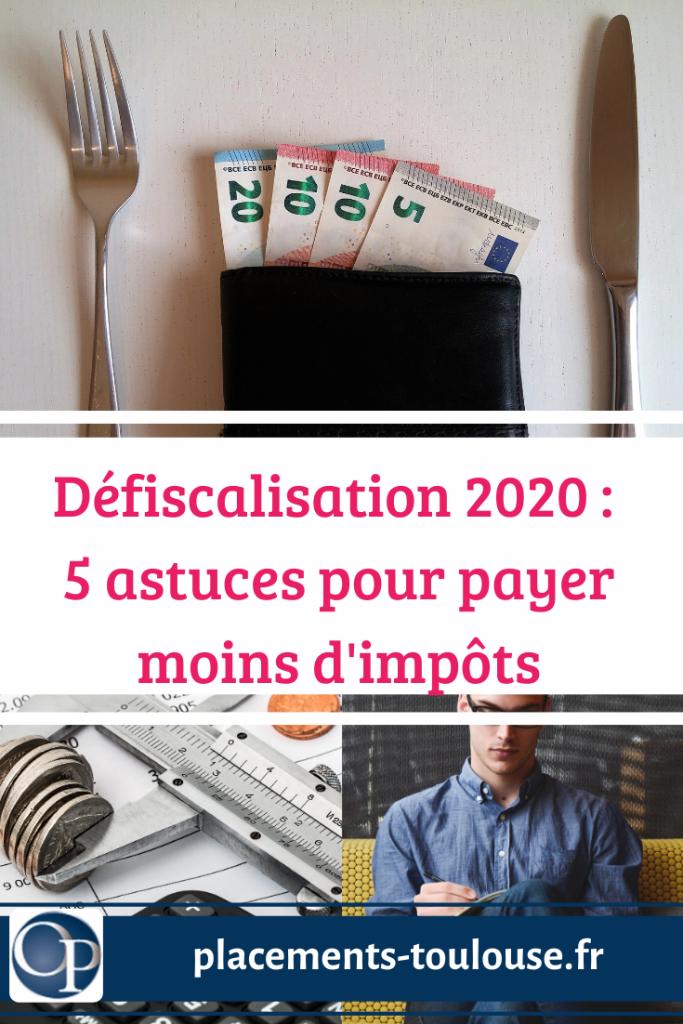 defiscalisation 2020